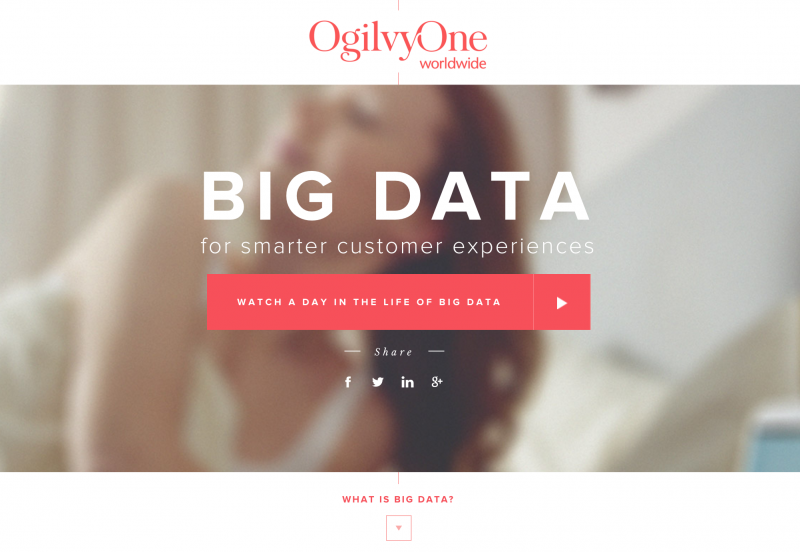 A day in Big Data - For Smarter Customer Experiences - OgilvyOne スクリーンショット
