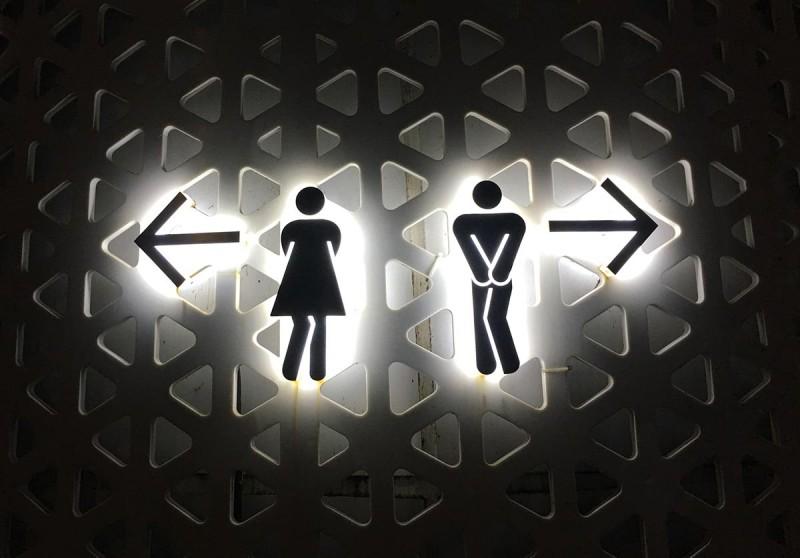 TOP OF HANOIのトイレのアイコン